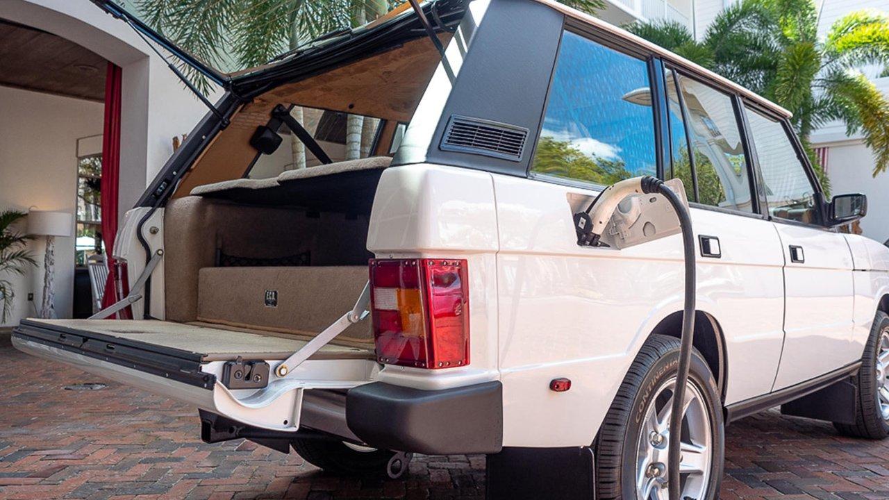 Elektrikli Range Rover Classic
