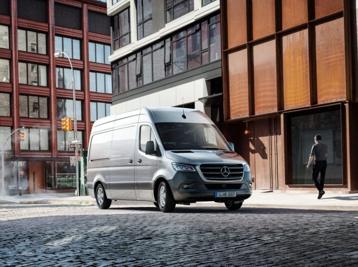Mercedes Benz Sprinter Panelvan 2021